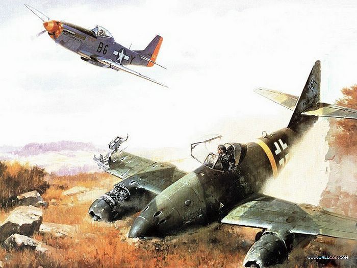 Collection (vol.02) - aviation art : wwii air combat paintings 28
