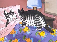 Bernard Kliban : Cat Dreams, Amusing Cat Cartoons23 pics