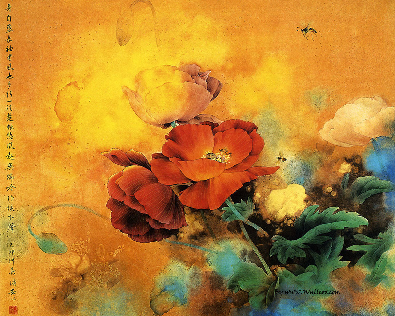 chinese painting wallpapers android - photo #37