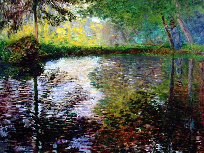 Impressionist painting : Claude Monet Paintings HD Wallpapers  - Claude Monet Painting : Landsape Oil Painting 1600*1200  23