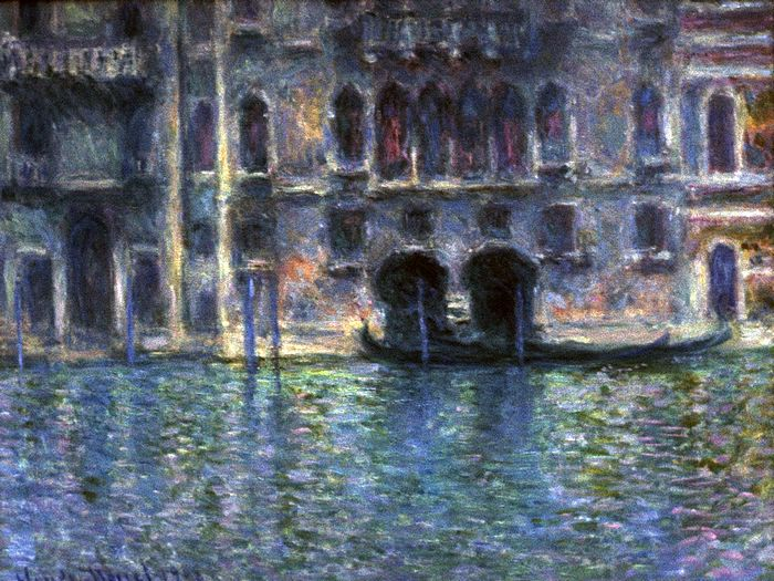 Impressionist painting : Claude Monet Paintings HD Wallpapers  - Claude Monet Painting :  Palazzo da Mula. Venice. 1908, 1600*1200 12