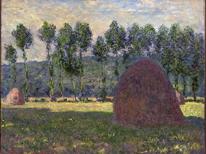 Impressionist painting : Claude Monet Paintings HD Wallpapers  - Claude Monet Painting : Grainstack Haystack , 1600*1200  19
