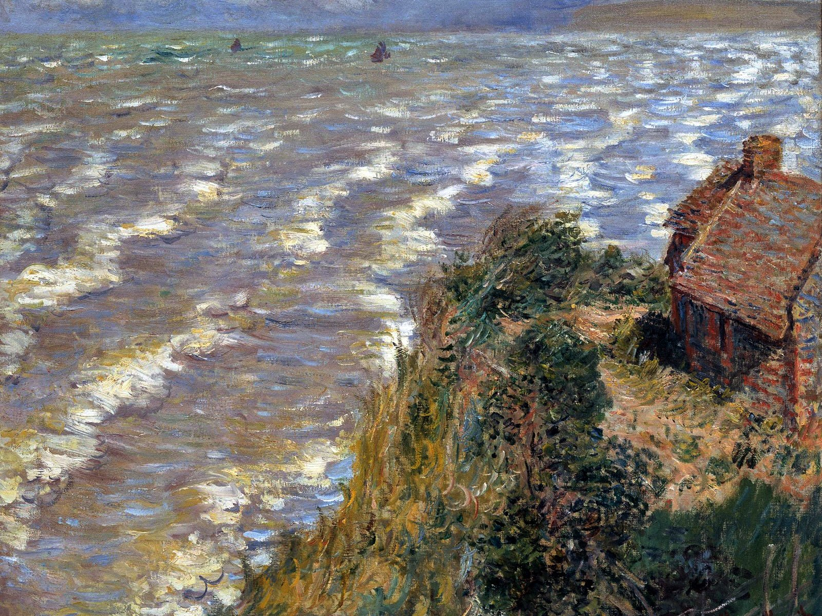 The gallery for claude monet impressionism for Claude monet impressionist paintings