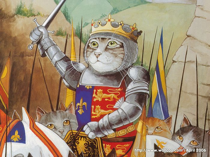 Shakespeare Cats : Cat Paintings by Susan Herbert  - Shakespeare Cats, Cats in Costume Playing Shakespearean Characters 2