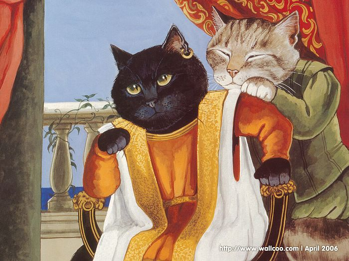 Shakespeare Cats : Cat Paintings by Susan Herbert  - Shakespeare Cats, Cats in Costume Playing Shakespearean Characters 6