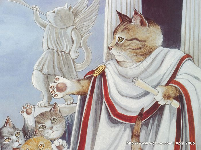 Shakespeare Cats : Cat Paintings by Susan Herbert  - Shakespeare Cats, Cats in Costume Playing Shakespearean Characters 8