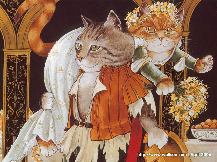 Shakespeare Cats : Cat Paintings by Susan Herbert  - Shakespeare Cats, Cats in Costume Playing Shakespearean Characters 9