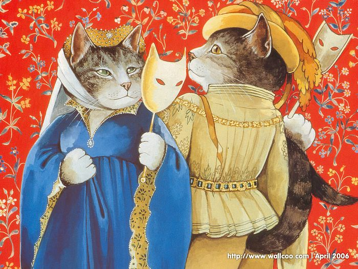 Shakespeare Cats : Cat Paintings by Susan Herbert  - Shakespeare Cats, Cats in Costume Playing Shakespearean Characters 13