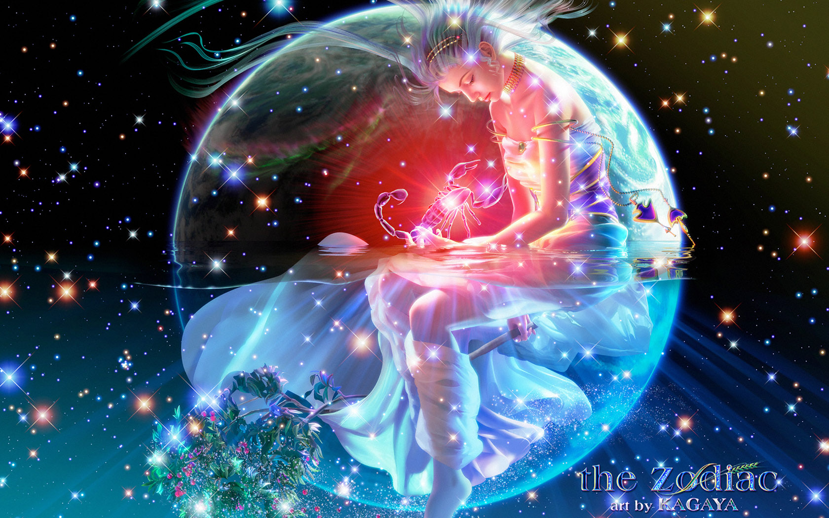 Kagaya Fantasy Art - Kagaya Wallpaper - Kagaya Zodiac Signs 1680*1050 NO.30 Wallpaper