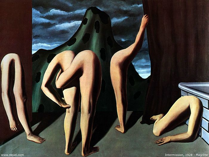 Image result for magritte, intermission