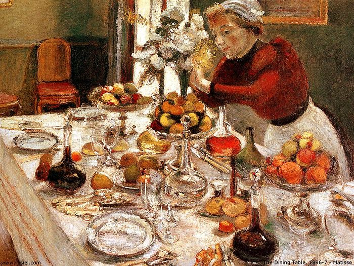 Charmant World Famous Paintings : Henri Matisse Paintings   The Dining Table, 1897    Henri Matisse