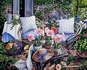 Romantic Garden Cottage - Susan Rios Paintings33 pics