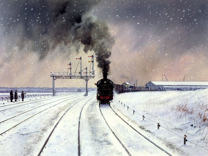 to a locomotive in winter Read, review and discuss the to a locomotive in winter poem by walt whitman on poetrynet.