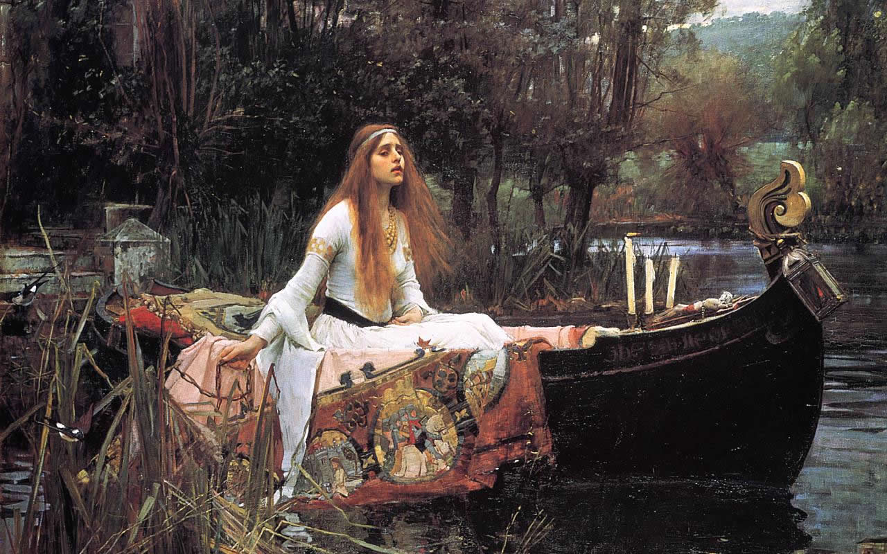 Lady of Shalott Waterhouse