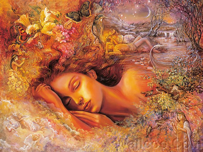 Fantazi Art... Mystical_fantasy_paintings_kb_Wall_Josephine-Psyche`s_Dream