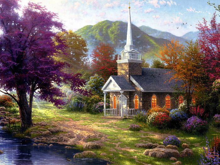 ... kinkade home is where the heart is 14 wallpaper 2 jlm kinkade home is