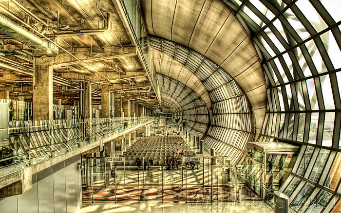Excellent HDR Photography - HDR Architecture Wallpapers  - HDR Architecture Photos - Airport  Space29