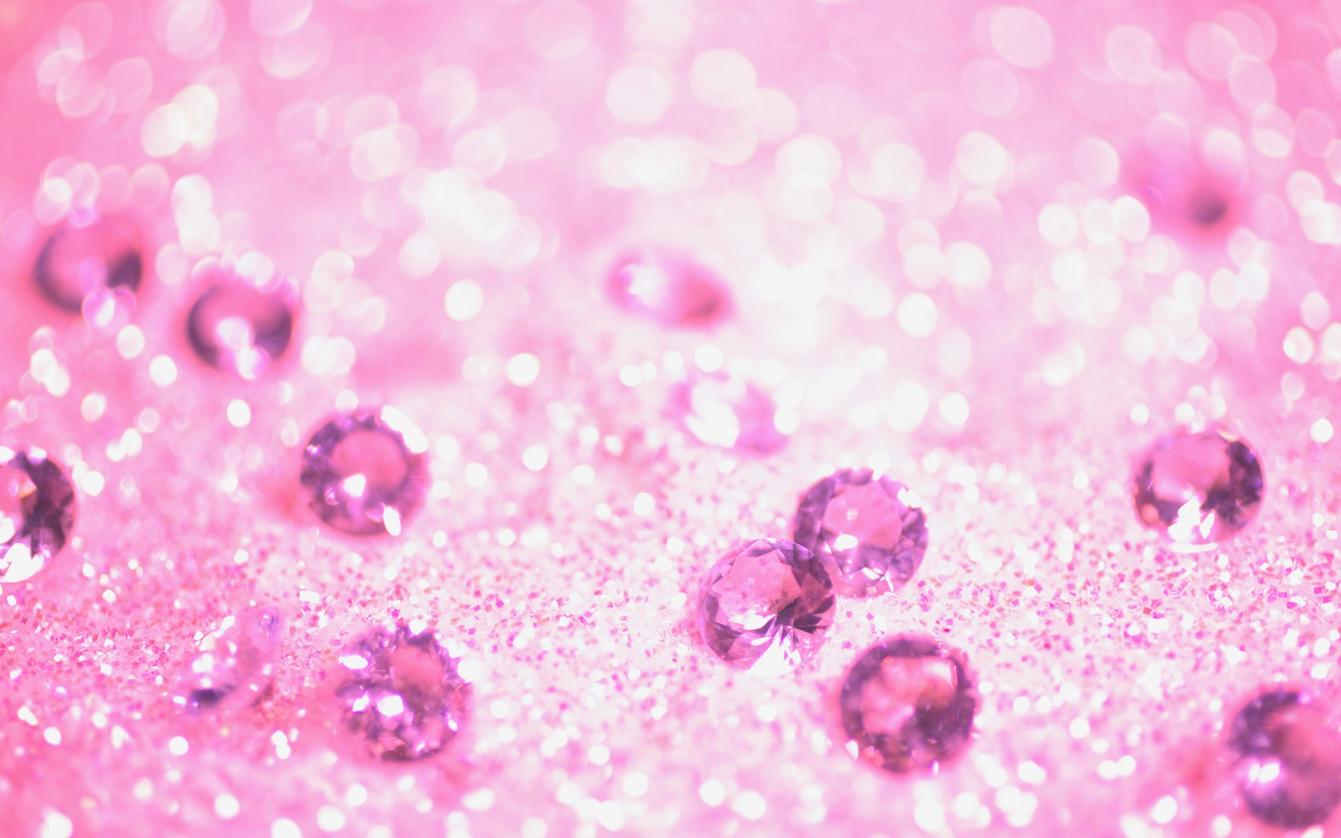 ... Crystals - Romantic Sparkling Backgrounds 1920*1200 NO.35 Wallpaper