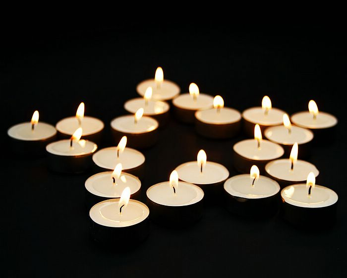 Lit Candles in Star Shape - Romantic Candle Light Photos 8 ...