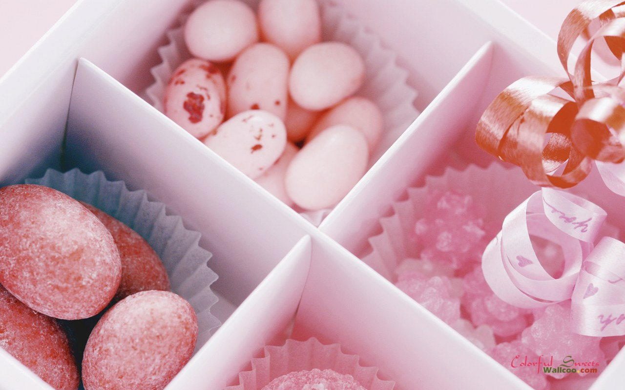 Colorful Sweets And Candies, Romantic Sweet Candy 1280x800