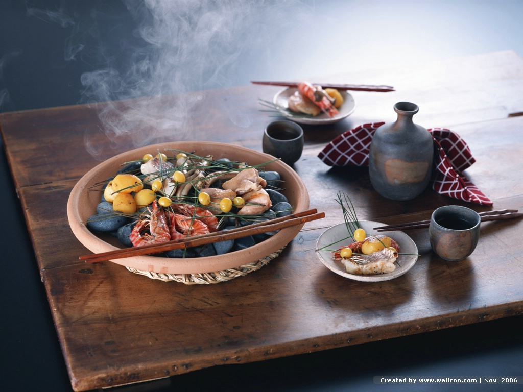 Food Photography : Japanese Food , Japanese Autumn Cuisine