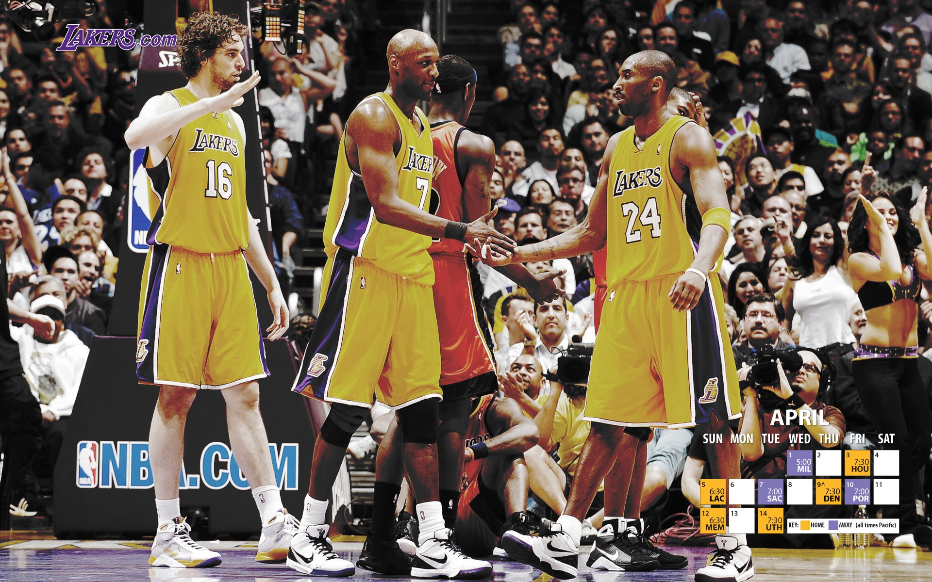 Lakers Wallpaper 2008