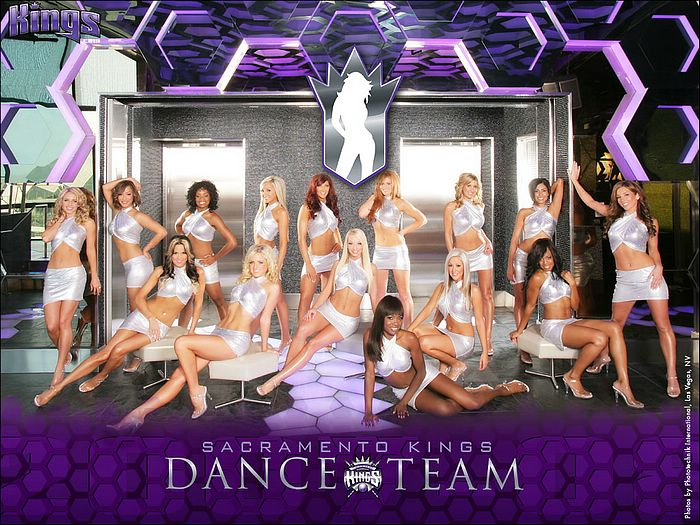 NBA Dancers Sacramento Kings
