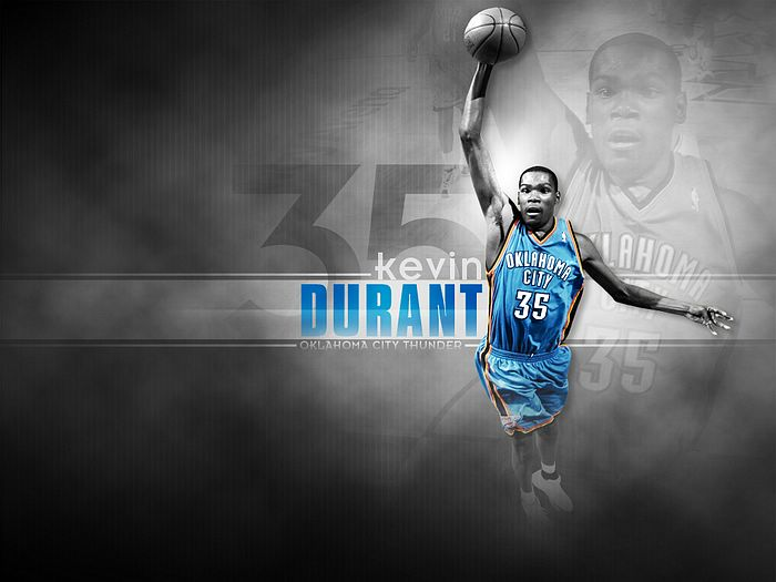 Nba Thunder Kevin Durant Photo 7 Wallcoo Net