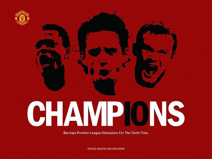 Desktop manchester united wallpaper idea for home man utd celebrations manchester united fc wallpapers desktop of voltagebd