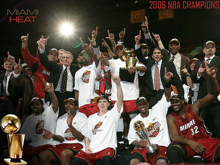 Miami Heat 2006 NBA Championship & Playoffs 2007 : 2006 NBA Champions