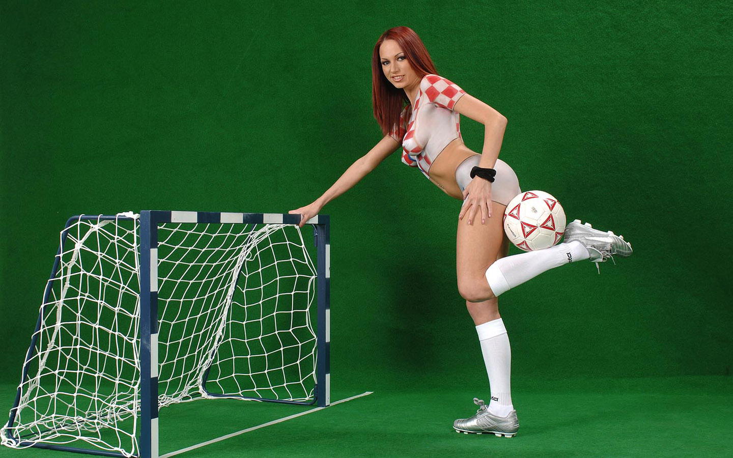 World Cup Babes - Body Painting Jersey1440*900 NO.24 Wallpaper
